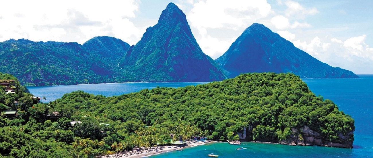 Pitons Anse Chastanet
